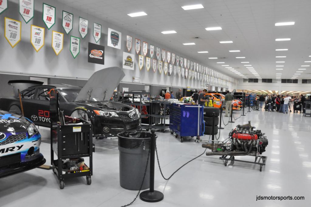 Joe Gibbs Race Shop Tours