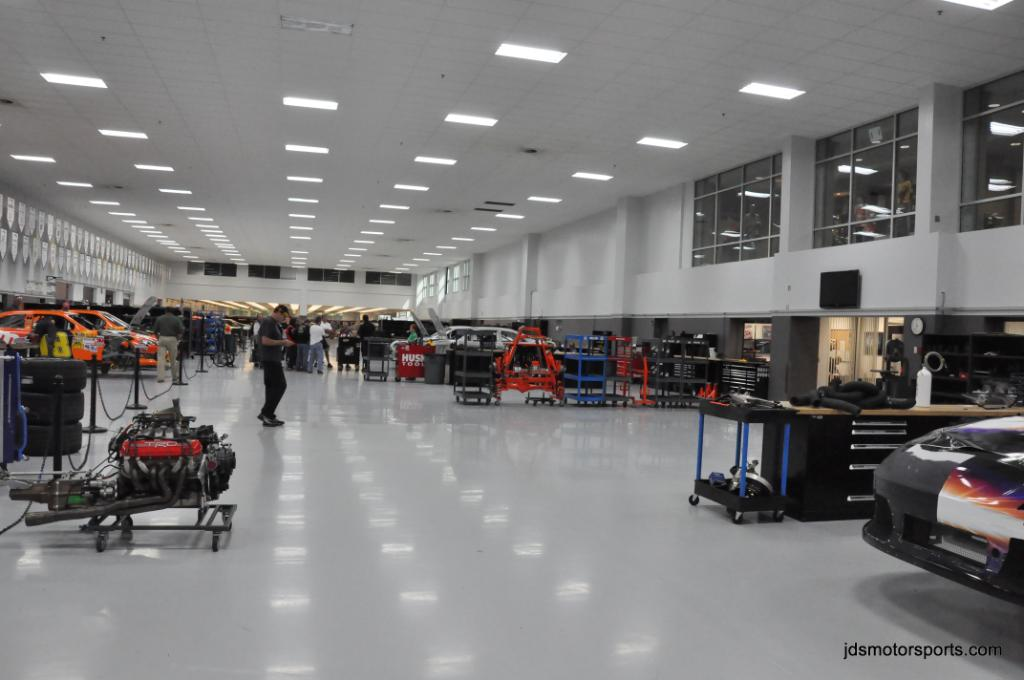 Joe Gibbs Racing Shop Tour