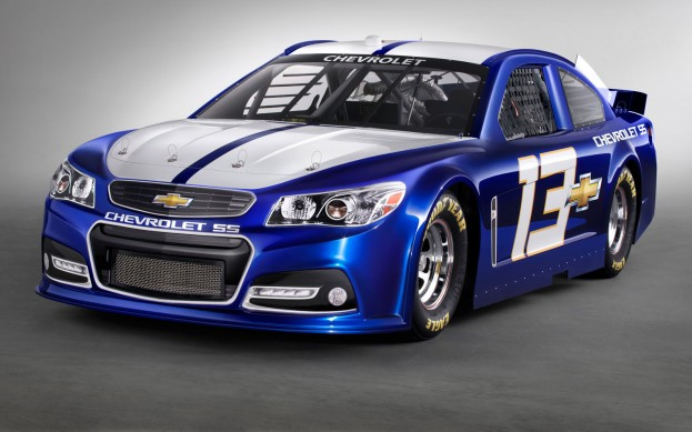 2013-Chevrolet-SS-NASCAR-front-side-view-623x389