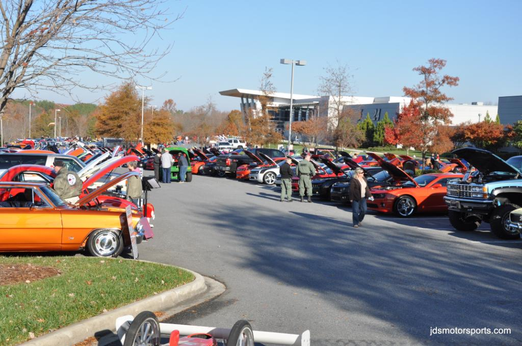10th Annual Hendrick Motorsports Christmas For Kids Car Show |