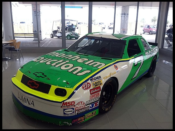 Want to purchase a good used NASCAR race car? Here is your chance! (1/6)