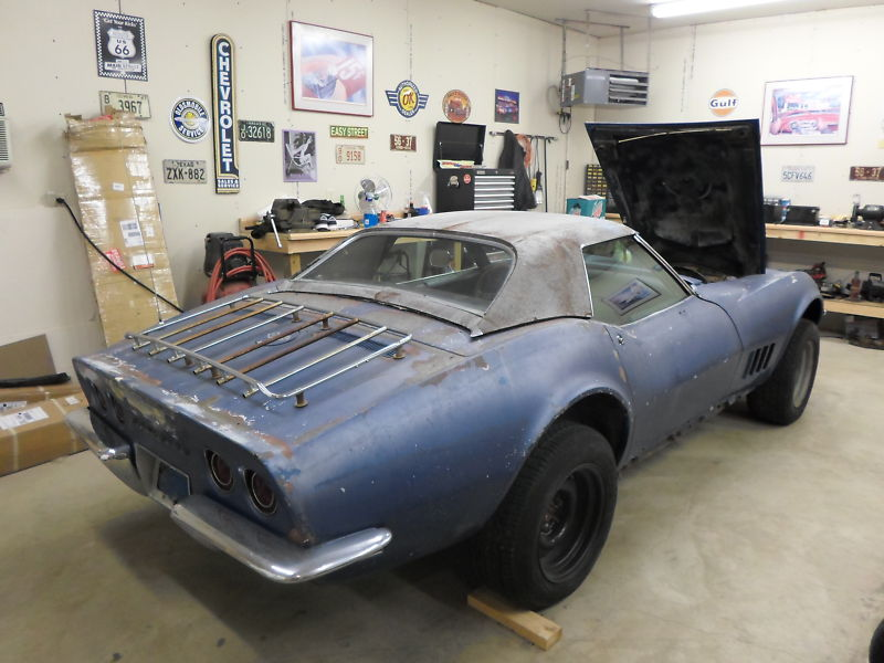 Ebay Find Of The Week: 1968 Chevy Corvette Project Car |
