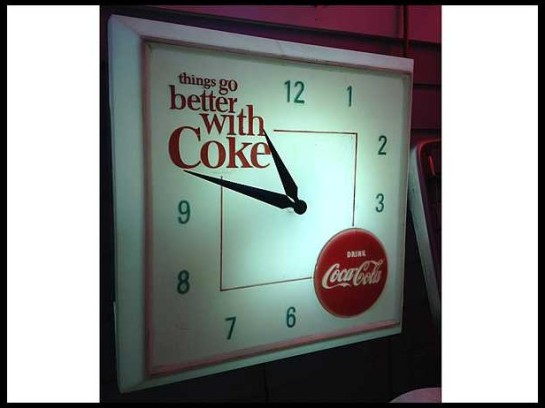 Coca-Cola-Light-Up-Clock