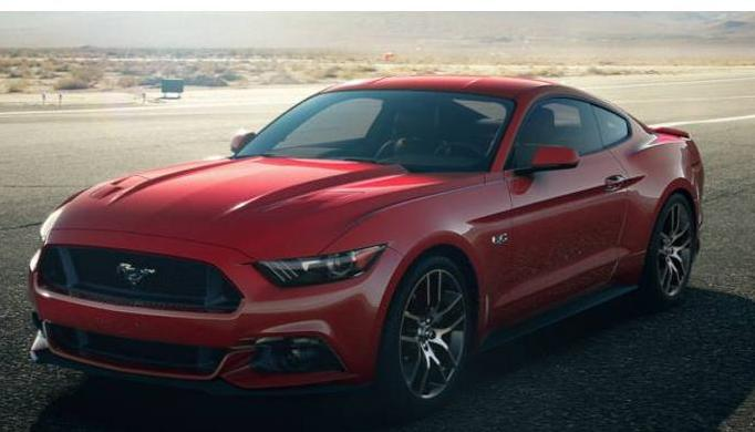 2015 ford mustang colors