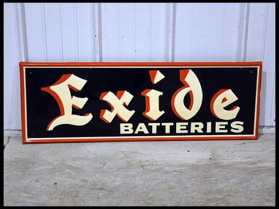 Exide-Batteries-Sign-SST-14x39