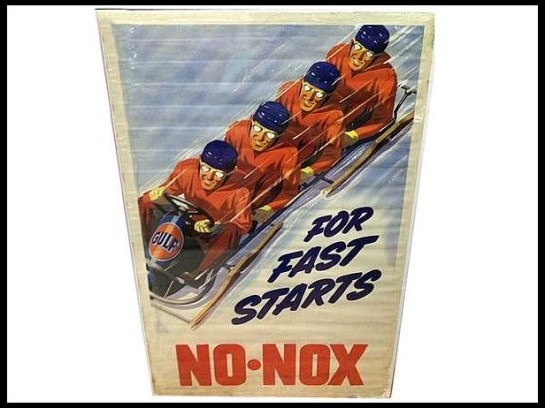 Gulf-No-Nox-Lithograph-Sign
