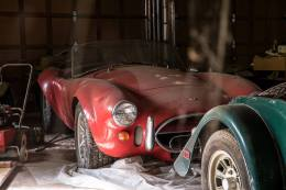 FordMuscle.com: Barn Find: Original Shelby Cobra Unearthed In North Carolina